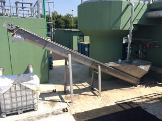 песколовка для механической очистки сточных вод в установленном виде