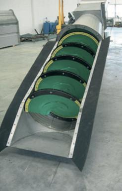 FC/U шнековая решетка для потоков с высоким содержанием твердых частиц спереди