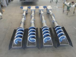 шнековая решетка с уплотнителем на доставку