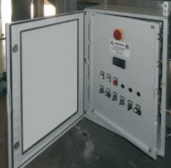 шкаф управления установки механической очистки сточных вод