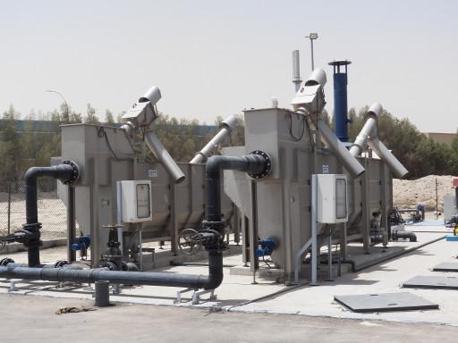 комбинированная установка механической очистки сточных вод в сборе