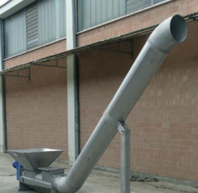 уплотнитель отходов шнекового типа