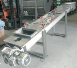 SMC конвейер-смеситель