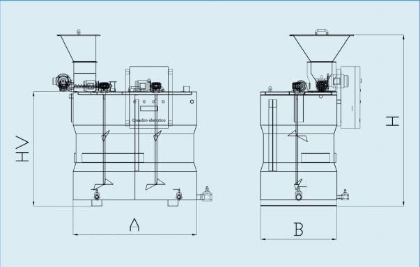схема устройства приготовления и дозирования флокулянта