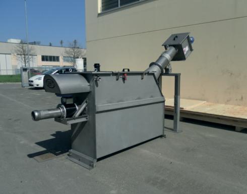 комбинированная установка для приема сточных вод после ассенизаторских машин