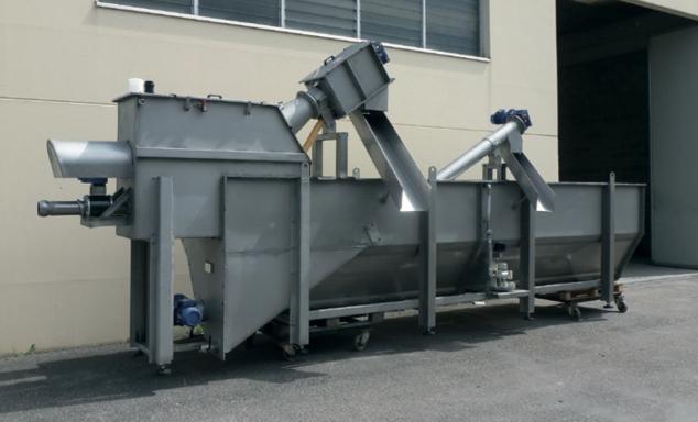 комбинированная установка для приема сточных вод после ассенизаторских машин (с жироуловителем)